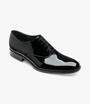 Load image into Gallery viewer, Loake Black Patent Shoe