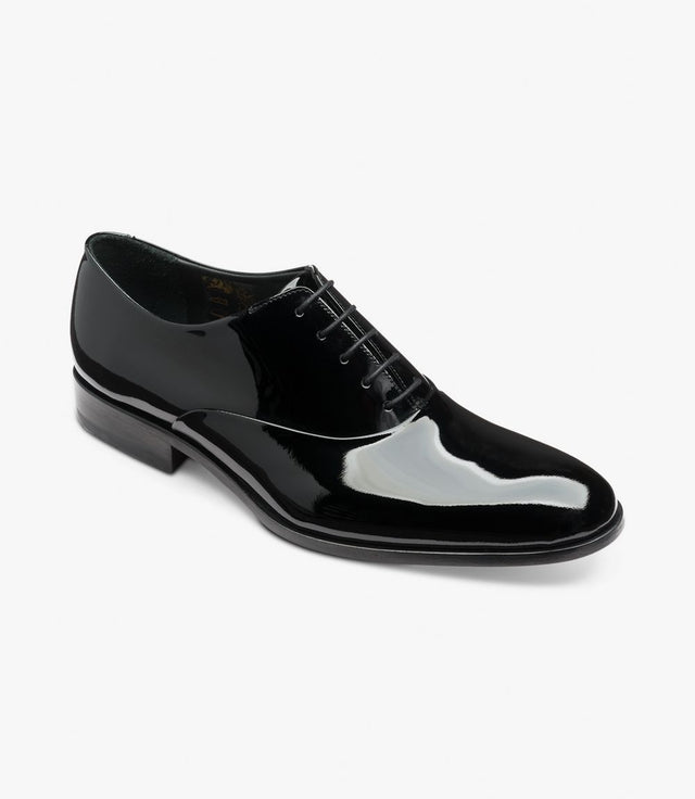 Loake Black Patent Shoe