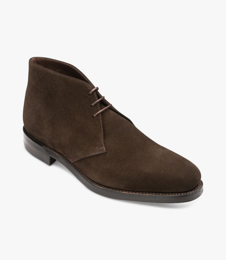 Load image into Gallery viewer, Loake 1880 Pimlico Dark Brown Suede
