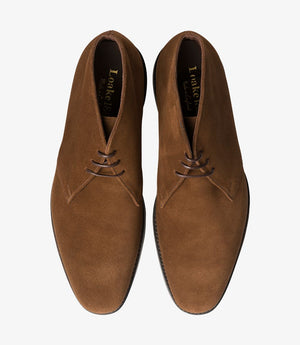 Load image into Gallery viewer, Loake 1880 Pimlico Brown Suede