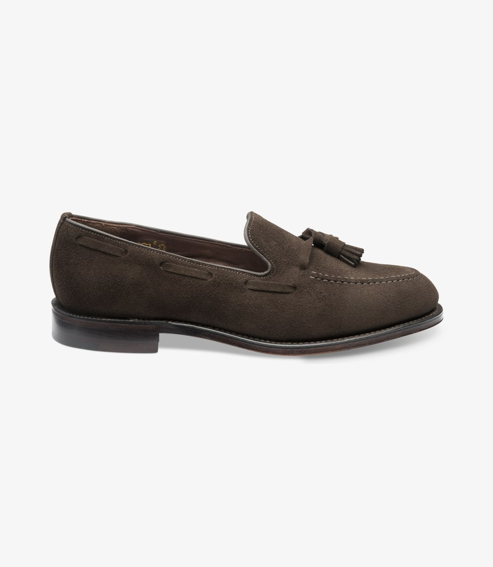 Loake 1880 Russell Dark Brown Suede