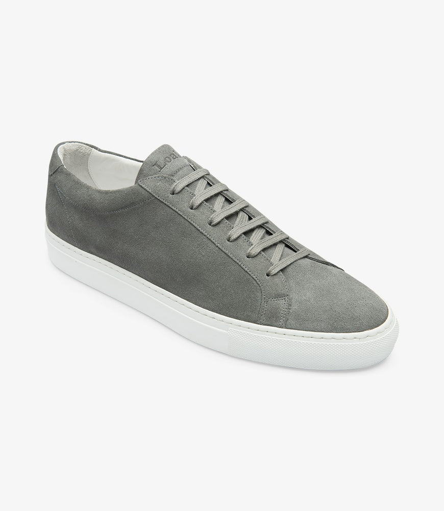 Loake Sprint Grey Suede