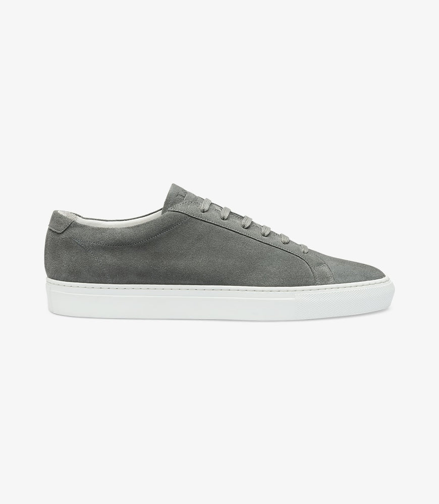 Load image into Gallery viewer, Loake Sprint Grey Suede