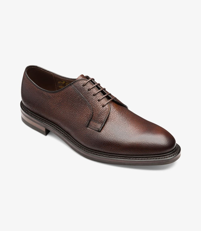 Loake 1880 Troon Rosewood Grained Calf