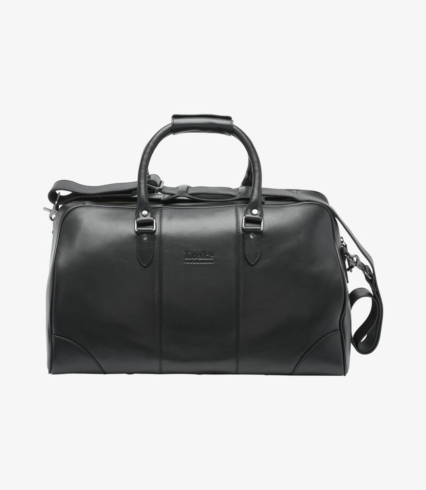 Loake Burghley Overnight Bag Black