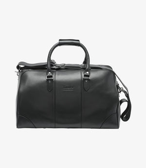 Load image into Gallery viewer, Loake Burghley Overnight Bag Black