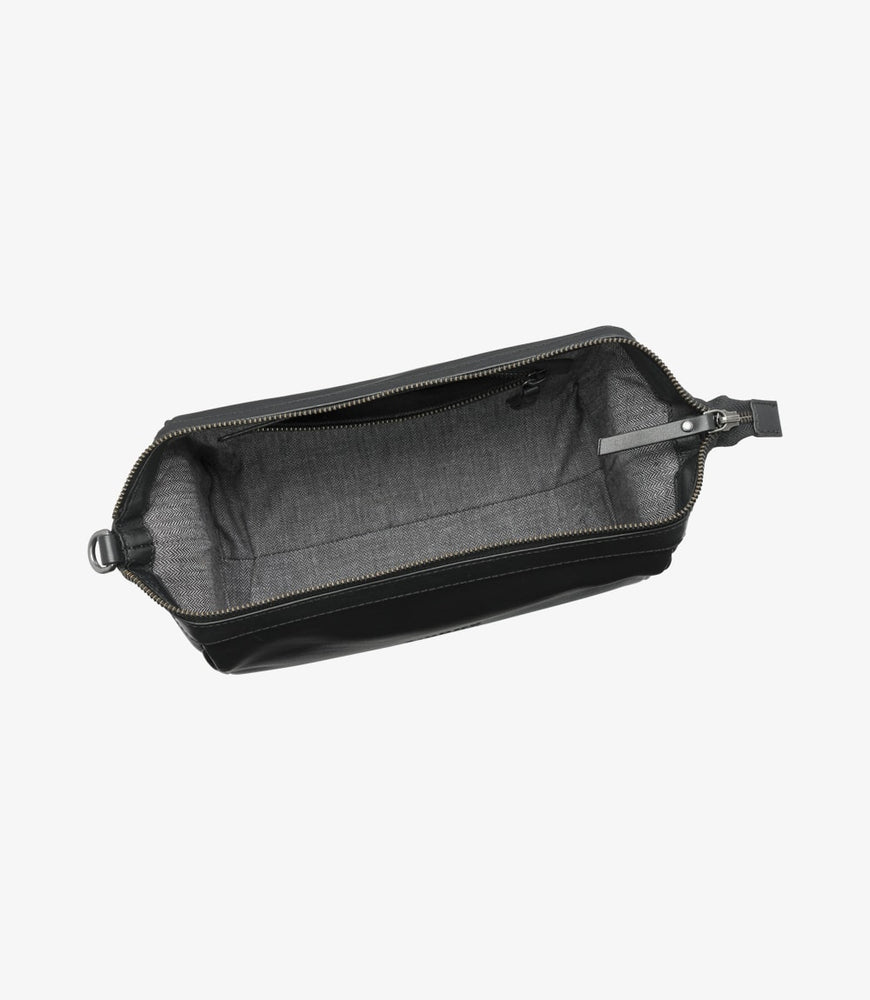 Load image into Gallery viewer, Loake Thames Wash Bag Black
