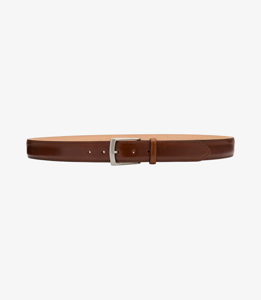 Load image into Gallery viewer, Loake Henry Belt Mahogany