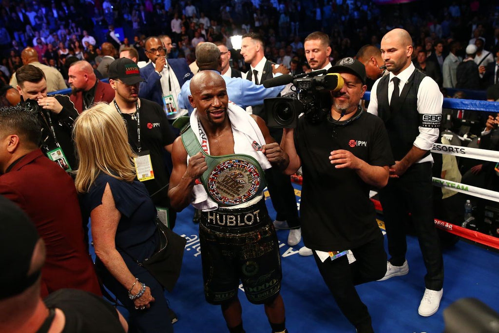 Mayweather and Hublot Triumph in Vegas