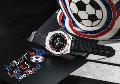 HUBLOT'S ALL NEW 2018 WORLD CUP SMARTWATCH