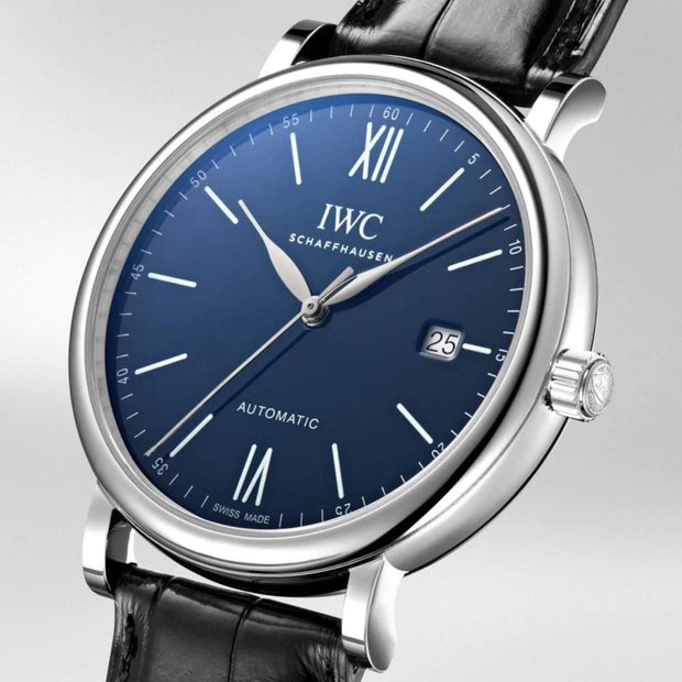 IWC Schaffhausen 40mm Portofino '150 Years Edition' Automatic Stainless Steel Mens Watch IW356518