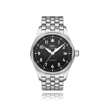 IWC Schaffhausen 36mm Pilot Mens Watch IW324010