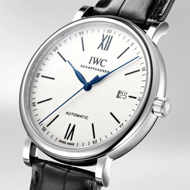 IWC Schaffhausen 40mm Portofino '150 Years Edition' Automatic Stainless Steel Mens Watch IW356519