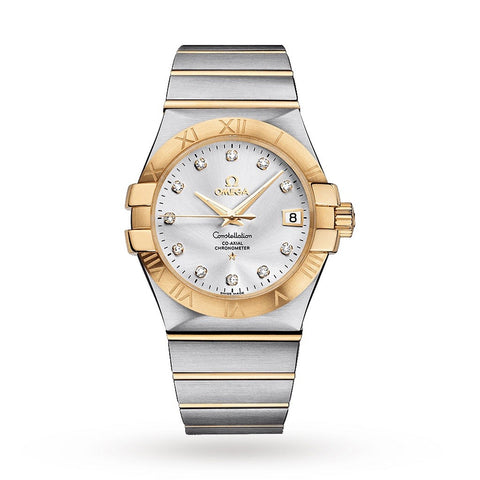 OMEGA Constellation Chronometer Mens Watch 123.20.35.20.52.002 - SwissTimepieces.co.uk