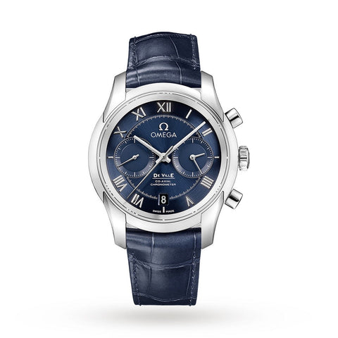 OMEGA De Ville Chronograph Mens Watch 431.13.42.51.03.001 - SwissTimepieces.co.uk