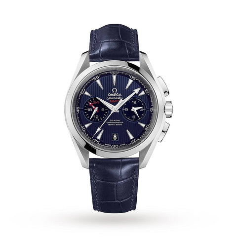 OMEGA Aquaterra GMT Mens Watch 231.13.43.52.03.001 - SwissTimepieces.co.uk