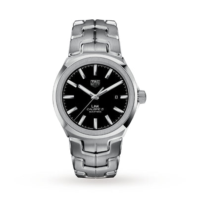 TAG Heuer Link Calibre 5 Mens 41mm Automatic Date Watch WBC2110.BA0603