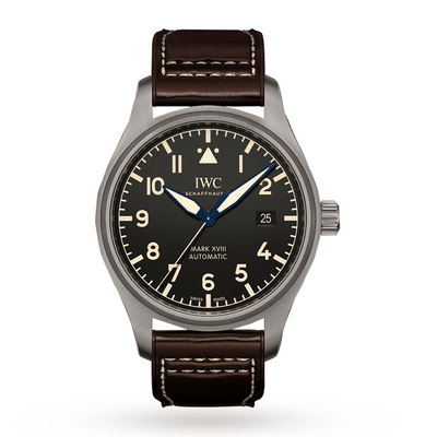 IWC Schaffhausen 40mm Pilot Automatic Stainless Steel Heritage Mens Watch IW327006