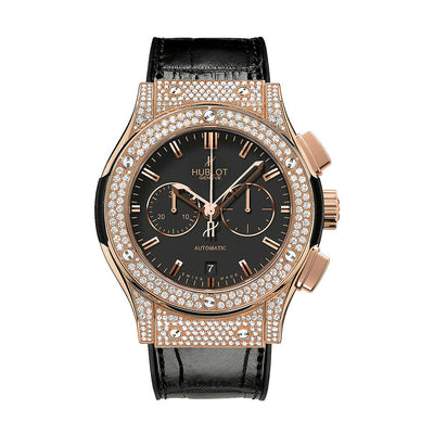 Hublot Classic Fusion Rose Gold Chronograph 42mm Mens Watch 541.OX.1180.LR.1704