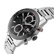 Tag Heuer Carrera Automatic Stainless Steel Black Dial Watch CBM2110.BA0651