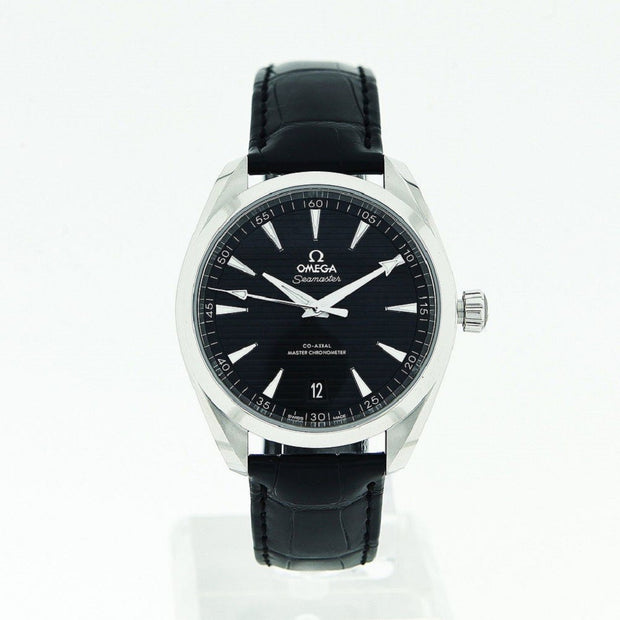 Omega-Seamaster-Aqua-Terra-41mm-Date-Black-Dial-Black-Leather-Strap-22013412101001-17778-2