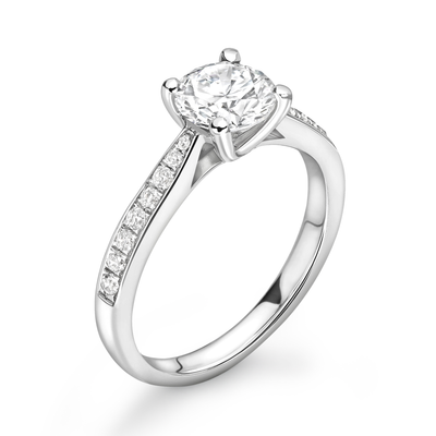Platinum 0.50ct Diamond Engagement Ring *Bespoke*