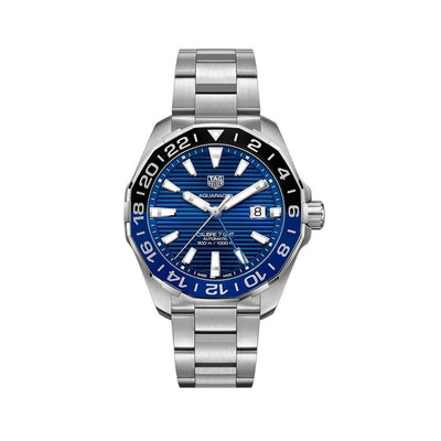 TAG HEUER Aquaracer Calibre 7 Stainless Steel Mens Watch - WAY201T.BA0927