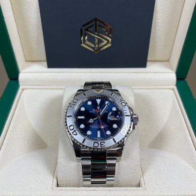 Rolex Yacht-Master 40 116622 Blue Dial 2019 Discontinued Full Set Watch