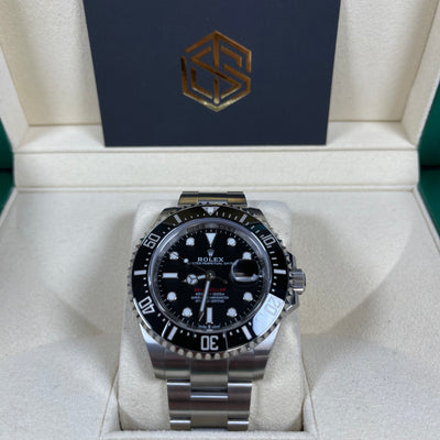 Rolex Sea-Dweller 126600 50th Anni Red Writing 2019 Full Set Watch