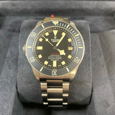 Tudor Pelagos Black LHD M25610TNL-0001 42mm Titanium Watch