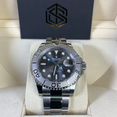 Rolex Yacht-Master 40 126622 Rhodium Dial 2020 Full Set Watch