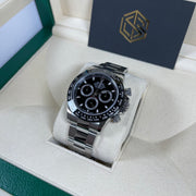 Rolex Cosmograph Daytona Ceramic Black Dial 116500LN 2018 Full Set Watch