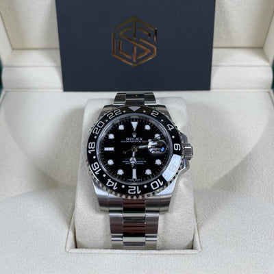 Rolex GMT-Master II 116710LN Black Dial 2020 Unworn Full Set Watch