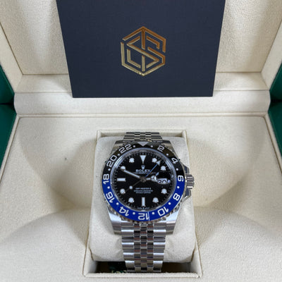 Rolex GMT-Master II 126710BLNR Batman Jubilee 2020 Full Stickers Watch