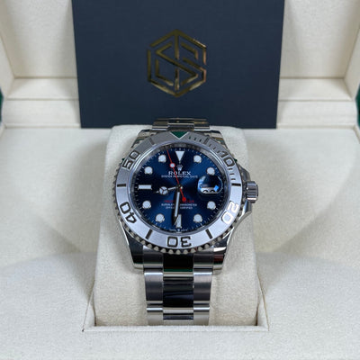 Rolex Yacht-Master 40 126622 Blue Dial Unworn 2020 Full Set Watch