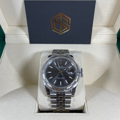 Rolex Datejust 41 126334 Rhodium Dial Jubilee 2020 Brand New Watch