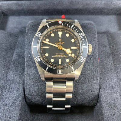 Tudor Black Bay Black Bezel M79230N-0009 41mm Watch