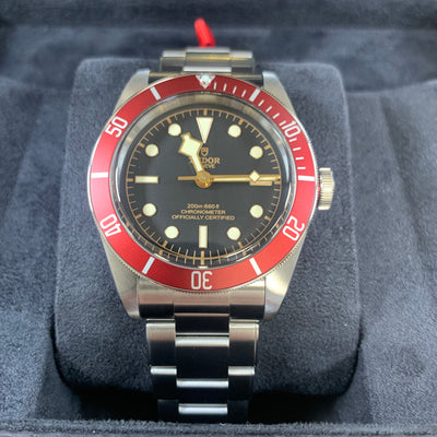 Tudor Black Bay Red Bezel M79230R-0012 41mm Watch
