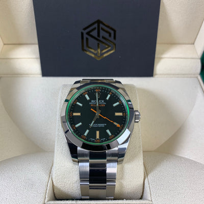 Rolex Milgauss 116400GV 2020 Brand New Full Set Watch