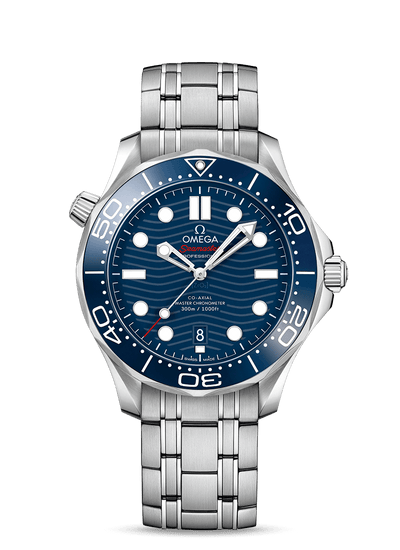 OMEGA SEAMASTER DIVER 300M CO‑AXIAL MASTER CHRONOMETER 42 MM WATCH 210.30.42.20.03.001