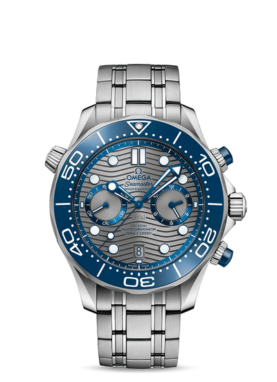 OMEGA SEAMASTER DIVER 300M OMEGA CO‑AXIAL MASTER CHRONOMETER CHRONOGRAPH 44 MM 210.30.44.51.06.001