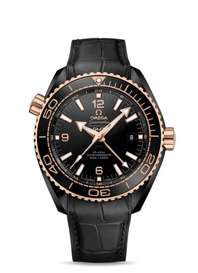 OMEGA Planet Ocean 600m Co-axial Master Chronometer Gmt 45.5 MM Watch 215.63.46.22.01.001