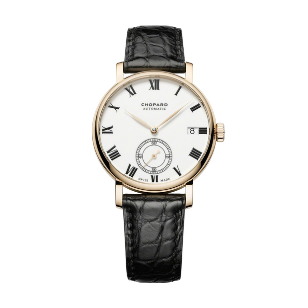 CHOPARD Classic Manufacture 18-carat Rose Gold Mens Watch 161289-5001