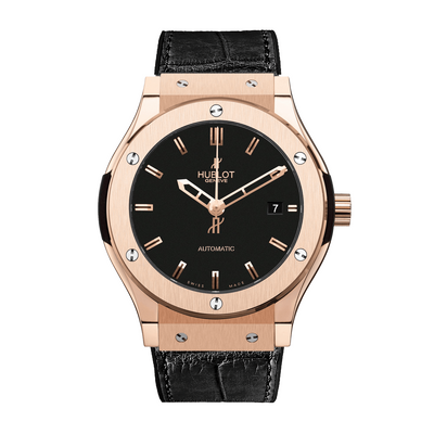 HUBLOT Classic Fusion Rose Gold Automatic Unisex Watch 542.OX.1181.LR