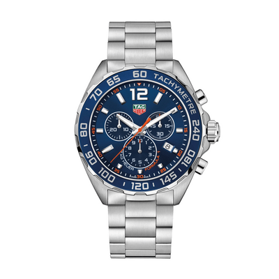 TAG HEUER Formula 1 Quartz Stainless Steel Blue Dial Mens Watch CAZ1014.BA0842