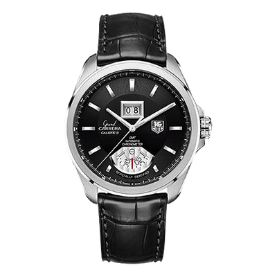 Tag Heuer Grand Carrera Automatic GMT Chrono Men's Watch WAV5111.FC6225