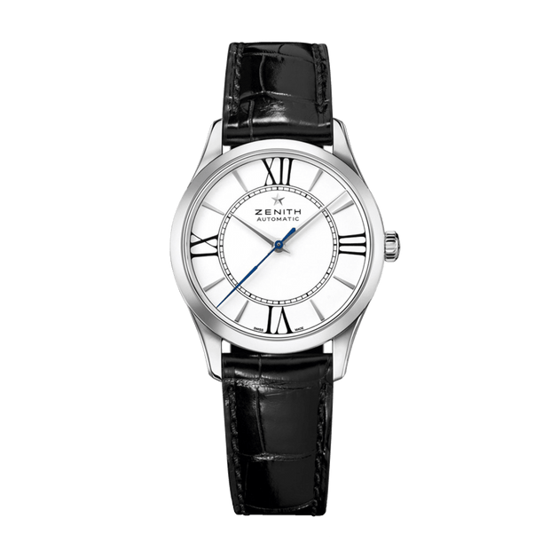 ZENITH Elite Automatic Stainless Steel White Dial Ladies Watch 03.2310.679/38.C714