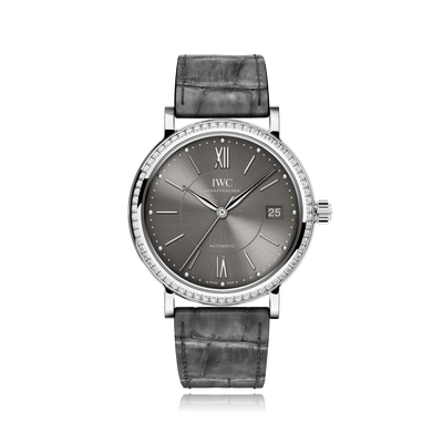 IWC Schaffhausen Portofino Midsize Grey Automatic Unisex Watch IW458104