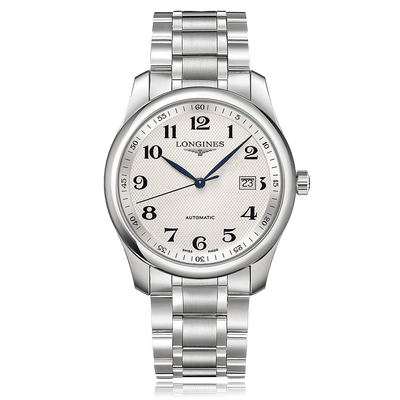 LONGINES Master Collection Automatic Stainless Steel White Dial Mens Watch L27934786