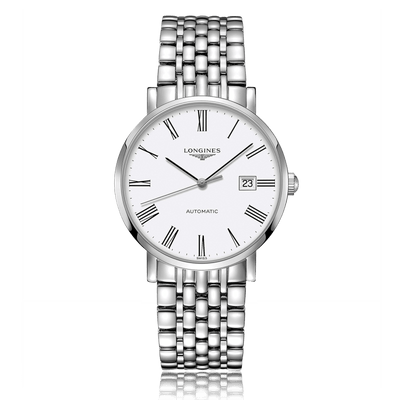 LONGINES La Grande Classique Automatic Stainless Steel White Dial Mens Watch L49104116